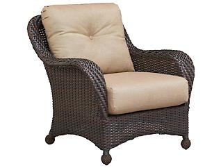 San Jose III Lounge Chair, Brown, , large