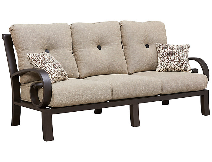 San Miguel III Sofa, Brown, , large