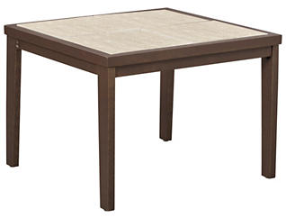 """Soyer 26"""" Square Table, , large"""