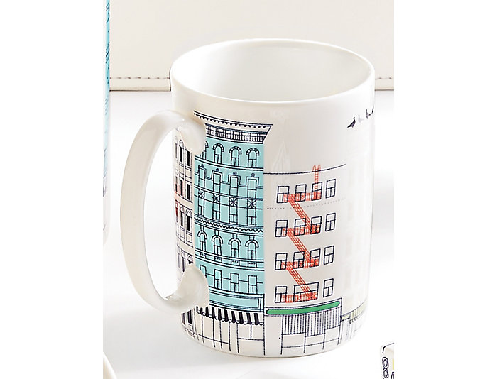 kate spade Hopscotch City Mug, , large