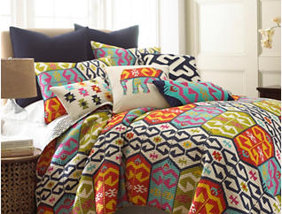 Malawi Twin Quilt Set, , large