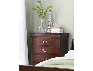 Philippe 5-Drawer Chest, Merlot, , large