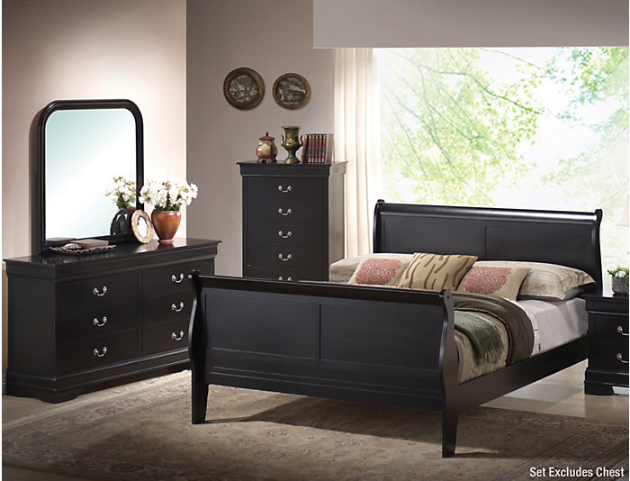 Philippe 6 Piece King Bedroom Set White Large