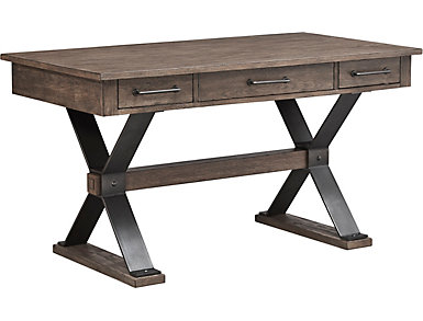 "Sonoma 56"" Weathered Bark Writing Desk, , large"