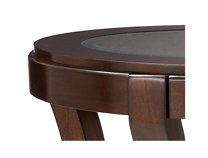 Avalon Oval End Table, , large