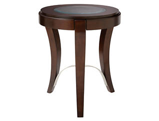 Avalon Chairside Table, Brown, , large