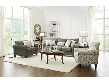 Avalon Brown Sofa Table, , large