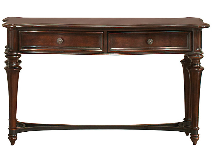 Kingston Sofa Table, Brown, , large