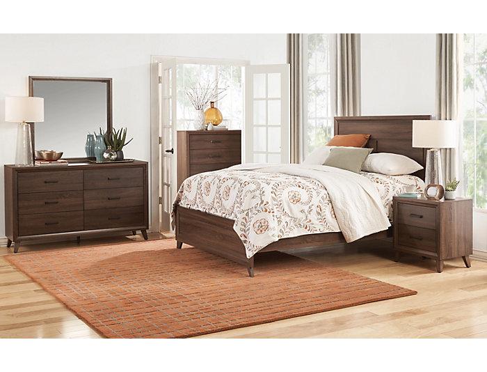 Spencer King Bed, , large