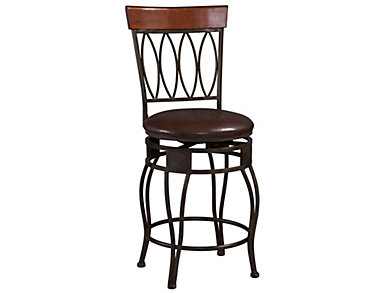 Four Oval Back Counter Stool, , large