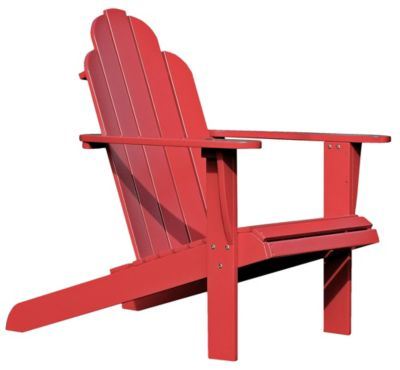 Beau ... Adirondack Chair, Brown, Red, Swatch ...
