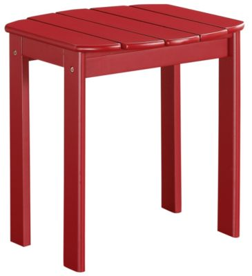Adirondack End Table, Red, swatch