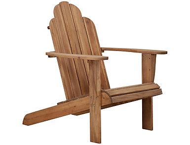Adirondack Chair, Brown, Brown, large