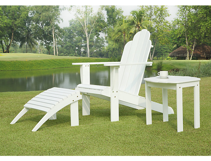 Adirondack chair, White, , large