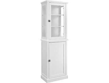 Linden Tall Bathroom Cabinet, , large