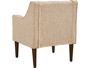 Monty Tufted Beige Chair, , large