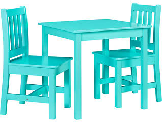 Jolene Teal Table and Chairs, , large