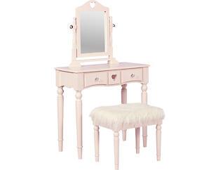Sally Pink Youth Vanity Set, , large