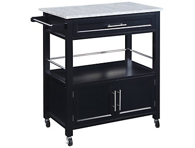 Cameron Kitchen Cart, , large