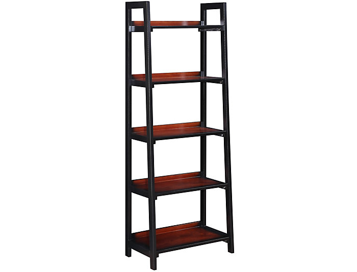 Camden Five Shelf Bookcase, , large