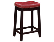 shop Claridge-Red-Counter-Stool