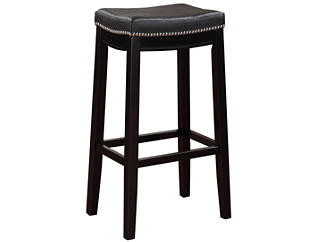 Claridge Black Bar Stool, , large