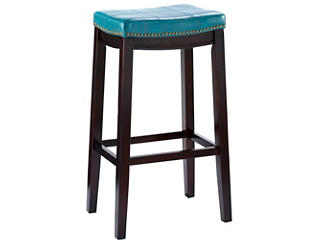 Claridge Blue Bar Stool, , large