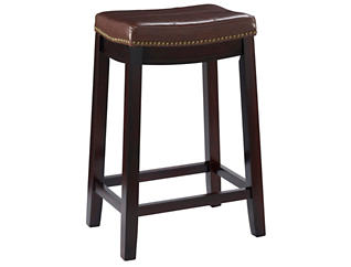 Claridge Brown Counter Stool, , large