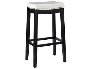 Claridge White Bar Stool, , large