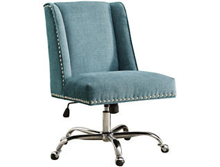 Draper Aqua Office Chair, , large