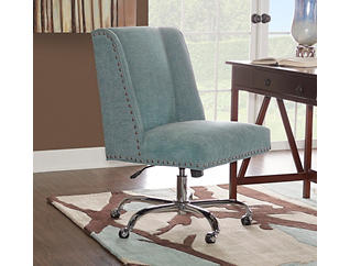Draper Office Chair, Teal, large