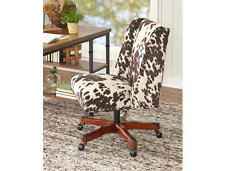 Draper Office Chair, White, large