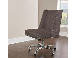 Draper Office Chair, Grey, large
