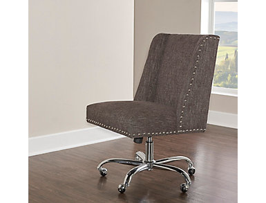 Draper Office Chair, Grey, large