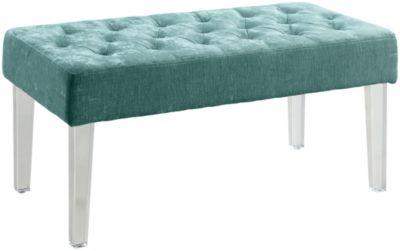 Abisko Aqua Side Table Art Van Furniture