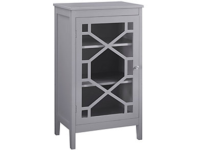 Fetti Grey Small Cabinet, , large