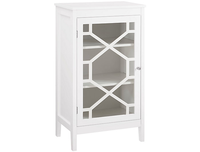 Fetti White Small Cabinet, , large