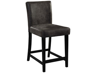 Morocco Charcoal Counter Stool, , large