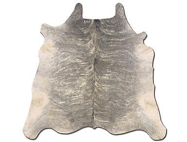Cowhide Light Brindle Rug, , large
