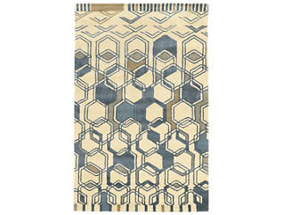 Aspire Hexagon 5x8 Rug, , large