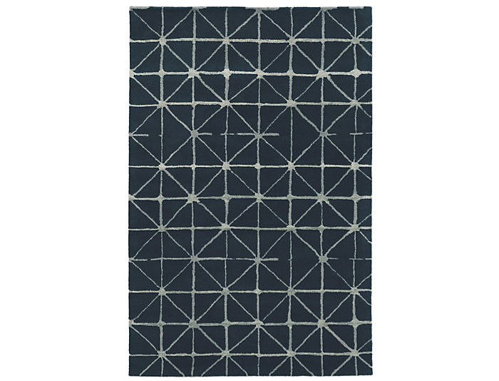 Aspire Pane Navy 5x8 Rug, , large