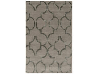 Aspire Geometric Slate 5x8 Rug, , large