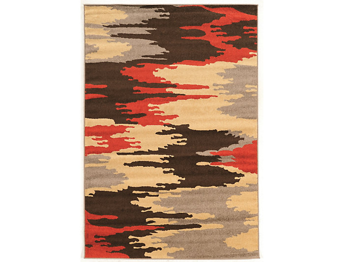 Claremont Larva Brown 5 x7 Rug, , large