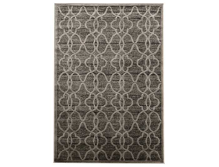 Platinum Raw Iron 8x11 Rug, , large