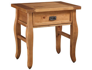 Santa Fe End Table, Brown, , large