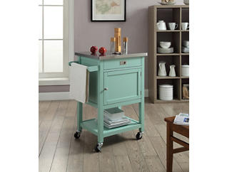 Sydney Green Apartment Cart, , large