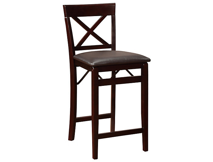 Incredible Triena Folding Counter Stool Caraccident5 Cool Chair Designs And Ideas Caraccident5Info