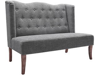 Tyra Settee, Grey, large