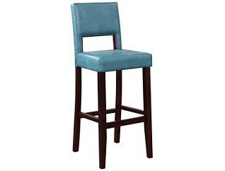 Vega Blue bar stool, , large