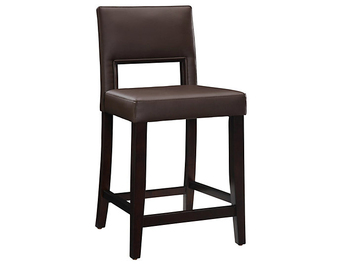 Vega Brown Counter Stool, , large